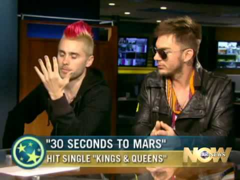 30 Seconds to Mars- Interview on ABC News Music Videos
