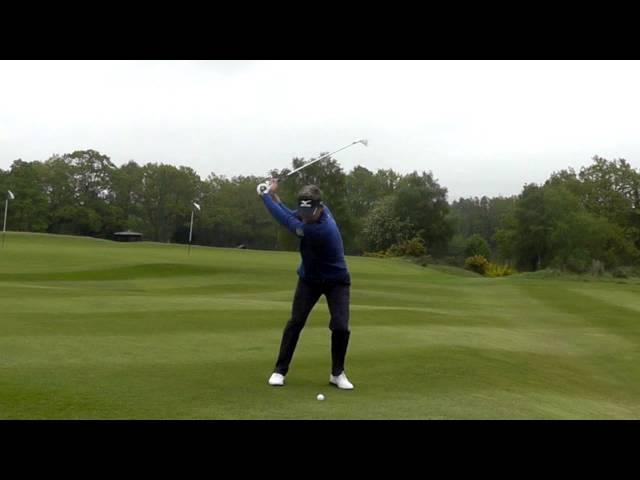 Luke Donald: New slow motion swing sequence