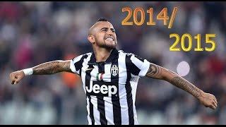 Arturo Vidal 2014/2015 || The warrior is back || goals and skills