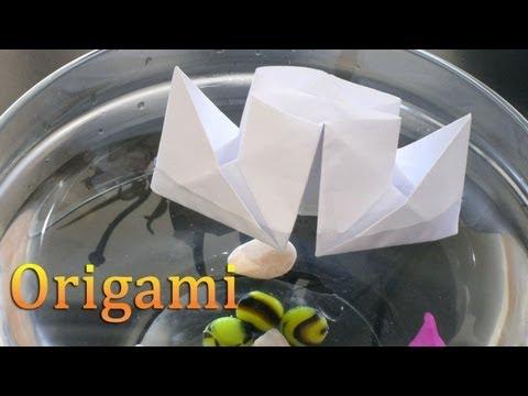 Как сделать батут из бумаги