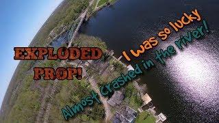 Water Hazard!? // FPV Freestyle