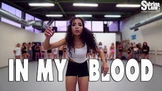 Download Lagu SHAWN MENDES - In My Blood | Contemporary Jazz | Choreography Sabrina Lonis Gratis STAFABAND