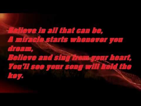Barbie And The Diamond Castle -Believe lyrics