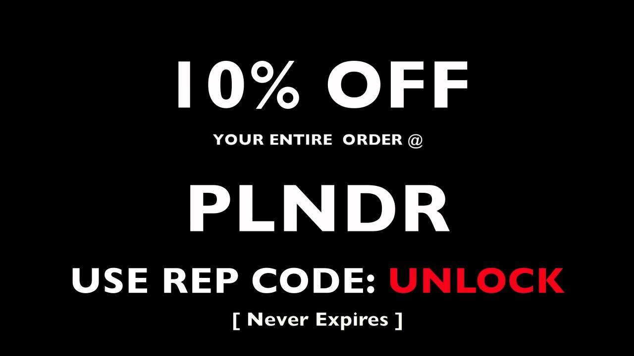 Plndr discount coupons