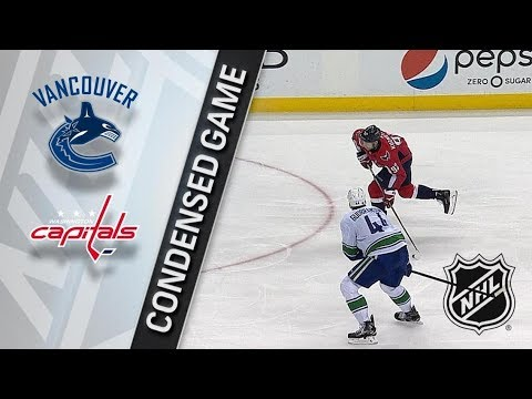 Vancouver Canucks vs Washington Capitals – Jan. 09, 2018 | Game Highlights | NHL 2017/18.Обзор матча