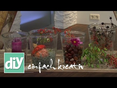Herbstliche Tischdeko | DIY einfach kreativ
