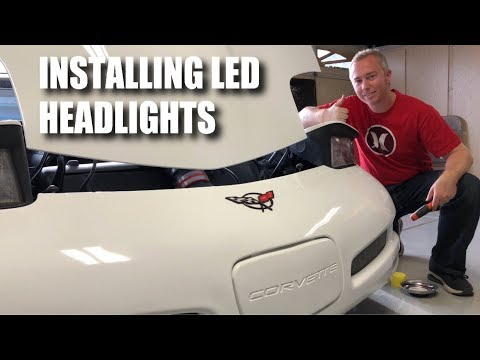 C5 Corvette LED Headlight Install