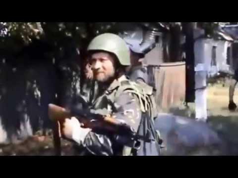 Донецк, уличные бои ополченцев и укропов! ДНР, ЛНР, АТО!