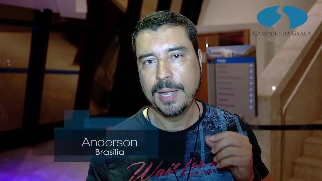 Boletim: Encontros com Caio Fábio em Brasília. Veja o depoimento do Anderson!