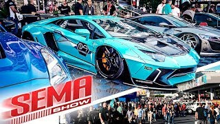 SEMA 2018 Day 1 - What you Missed