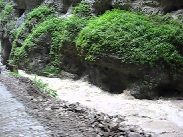 Чегемские водопады - жемчужина