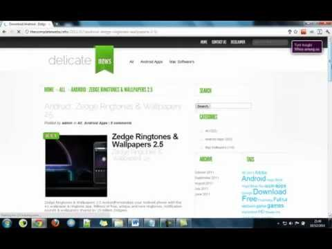 Download Zedge Ringtones & Wallpapers 2.5 Android Full Version Free! video