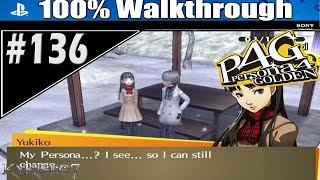 """Persona 4 Golden-100% P.136 -Yukiko & Kanji Rank 11 """"Takeji Zaiten & Sumeo-Okami"""""""