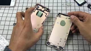 Quy trình để dựng mới iphone đã cũ nát