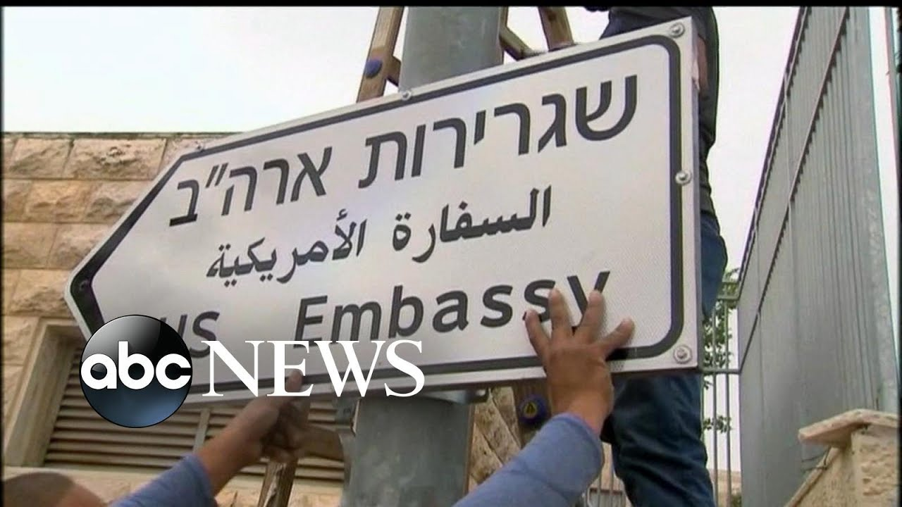 U.S opening new American embassy in Jerusalem
