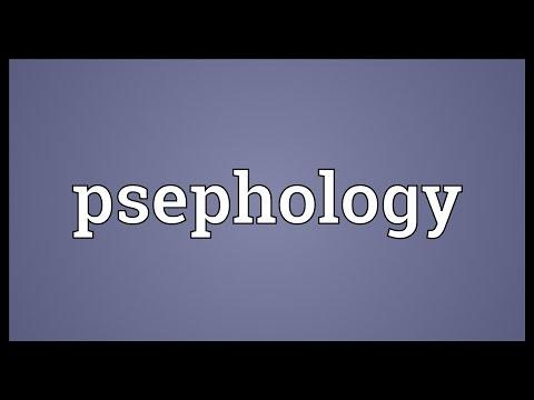 Header of psephology