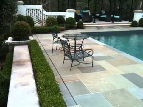 Outdoor Mosquito Control around an Atlanta Pool and English Garden