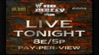 WWF No Mercy 1999 Commercial 2