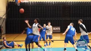 Mic'd Up: Lendward Griffin, UWF Men's Basketball