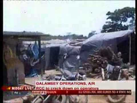 Midday Live - Galamsay Workers Encroach Bui Dam - 25 4 2014 video