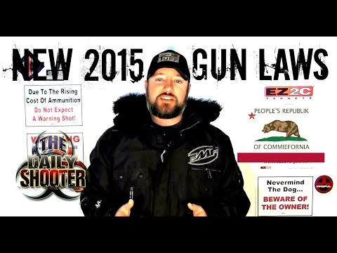California New Gun Laws 2015