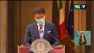 Dpcm, Giuseppe Conte:
