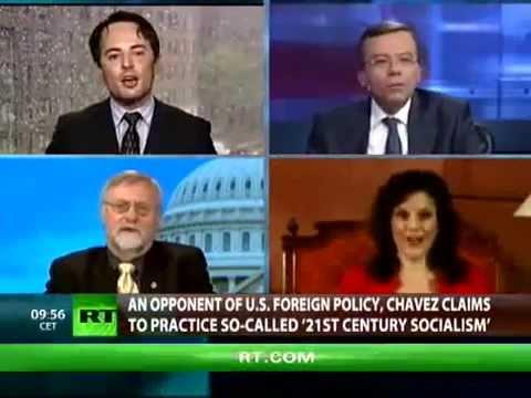 HRF's Thor Halvorssen debates human rights in Venezuela on RT's CrossTalk