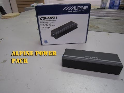 Alpine Power Pack KTP-445U (Mini Amplifier)