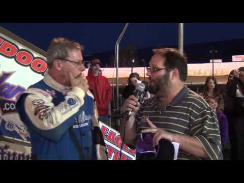Port Royal Speedway 410 Sprint Car Victory Lane 4-11-15