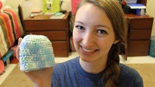 Download Simple Newborn Hat - Crochet pattern 3Gp Mp4