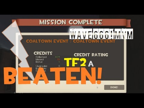 TF2: FINALLY BEATEN WAVE 666 [HALLOWEEN 2012]