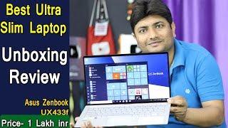 Best Laptop 2019 | Asus Zenbook 14 UX433f Unboxing & Review | Ultra Slim Laptop