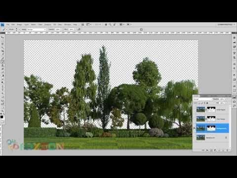 Como hacer selecciones complejas en Photoshop