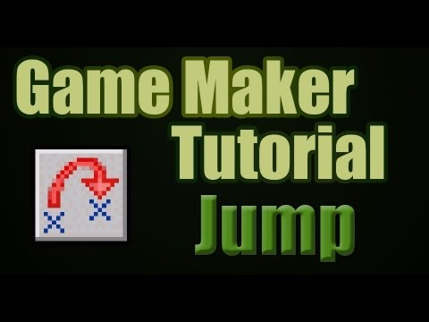 Game Maker Actions Move Tab: Jump