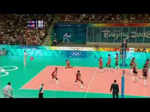 Cuba vs USA - Women's Volleyball - Beijing 2008 Summer Olympic Games