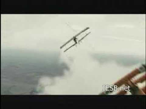 Destruction du Zeppelin, extrait de Flyboys (2006)