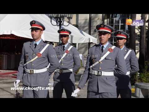 طنجة : مراسيم تحية العلم بمناسبة  الذكرى 63 لعيد الإستقلال