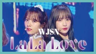 Hot Wjsn La La Love 우주소녀 La La Love Show Music Core 20190119