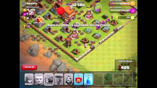 Clash of Clans Level 38 Attack GamePlay
