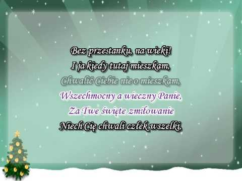 Kolęda Karaoke - Nabożna I święta żona - Z Wokalem