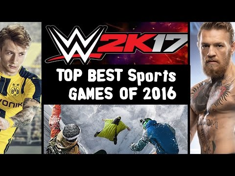 ★ TOP 9 - Best Sports Games of 2016 (KVG Awards 2016 HD)