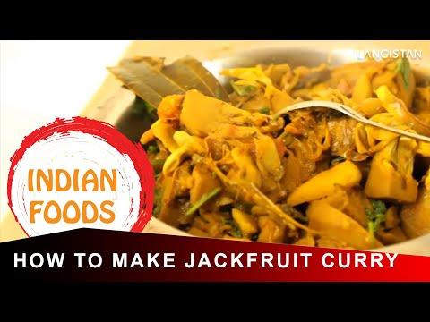 How to Make JackFruit Curry Indian Style (KatHal Ki Sabzi)