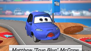 Cars Daredevil Garage MATTHEW TRUE BLUE MCCREW Free Game for Kids (Gameplay, Walkthrough)