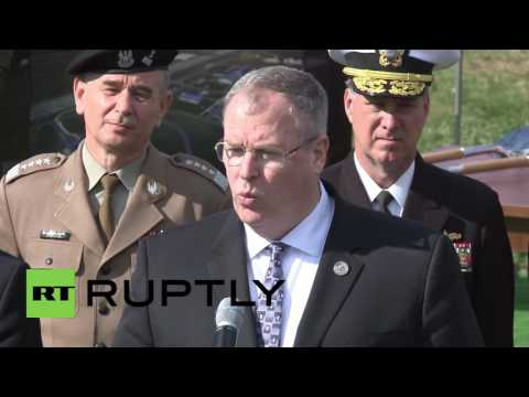 Poland: NATO officials break ground on Aegis Ashore missile defence complex