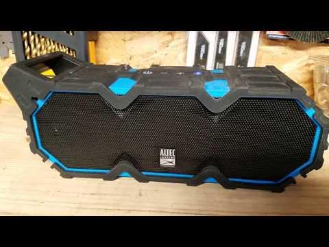 Altec Lansing Life Jacket XL Bluetooth Speaker REVIEW
