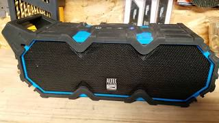 Altec Lansing Life Jacket XL Bluetooth Speaker REVIEW