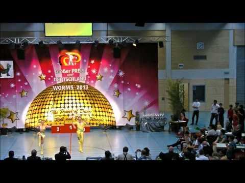 Nicole Kalb & Alexander Kapsalis - Großer Preis von Deutschland 2013