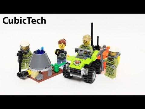 Lego City 60120 Volcano Starter Set - Lego Speed Build