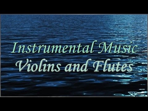 Instrumental Music Violin - Frozen Violin - Instrumental Music Flute