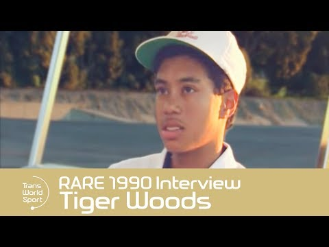 Tiger Woods On Racism & Masters - RARE 1990 Interview